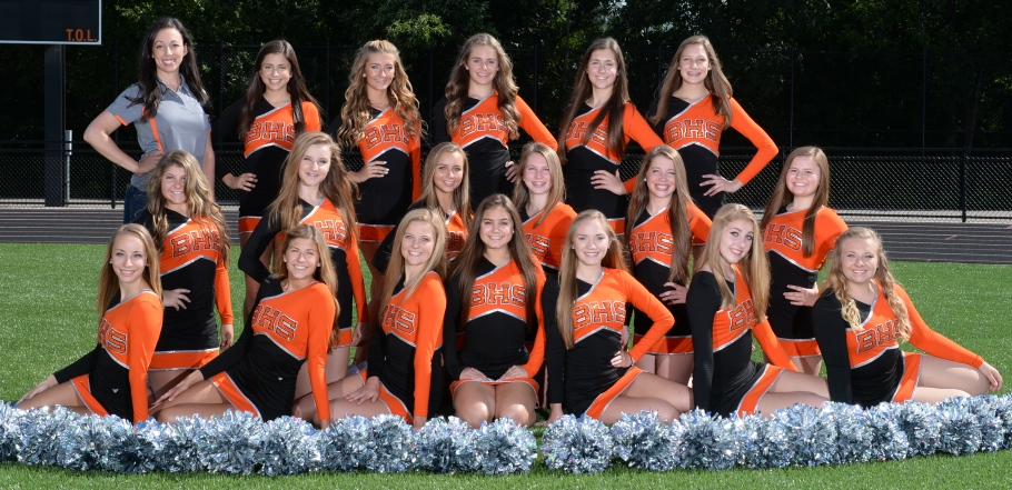Girls Junior Varsity Pom